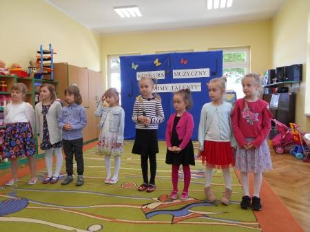 2019.05.14 - KONKURS MUZYCZNY ,,ŁOWIMY TALENTY''W PRZEDSZKOLU NA WRONIECKIEJ