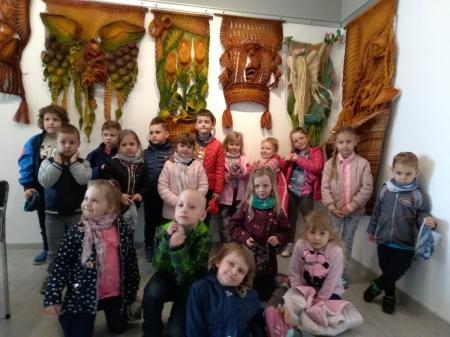 17.05.2019 - Wyjście do Domu Kultury na wystawę Jolanty Surma -MAKRAMA