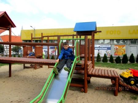16.09.2019 Zabawy na placu przedszkolnym