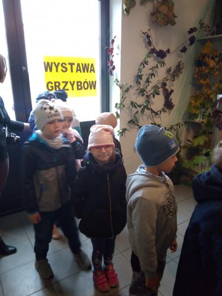 03.10.2019 Wycieczka do Sanepidu - Wystawa grzybów