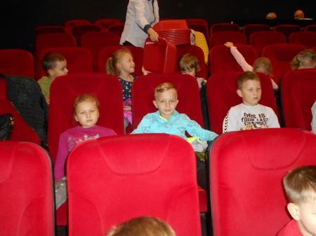2019.10.17 - Wyjscie do kina na spektakl pt. ,,Podniebna misja''