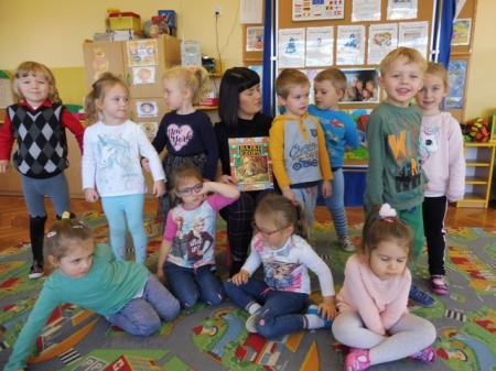 Cała Polska czyta dzieciom - bajki Ezopa czyta mama Błażeja 31.10.2019r.