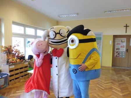 Profesor Zabawka gościnnie w naszym przedszkolu 14.11.2019r.