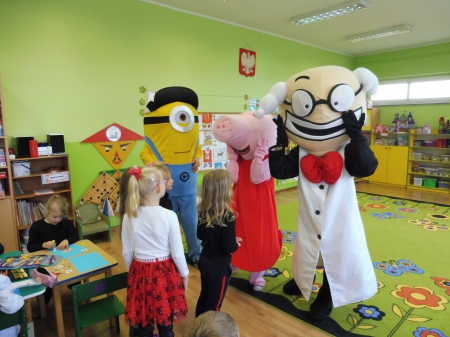 2019.11.14 Wizyta Profesora Zabawki wraz z jego Przyjaciółmi