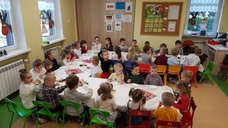 20.12.2019 Spotkanie wigilijne z grupą Jaś i Małgosia