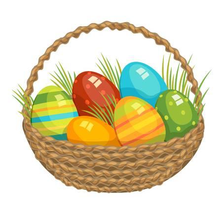 08.04.2020  Temat dnia:  Wielkanocny koszyczek.
