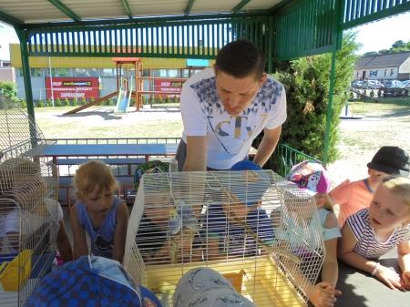 Wizyta hodowcy ptaków