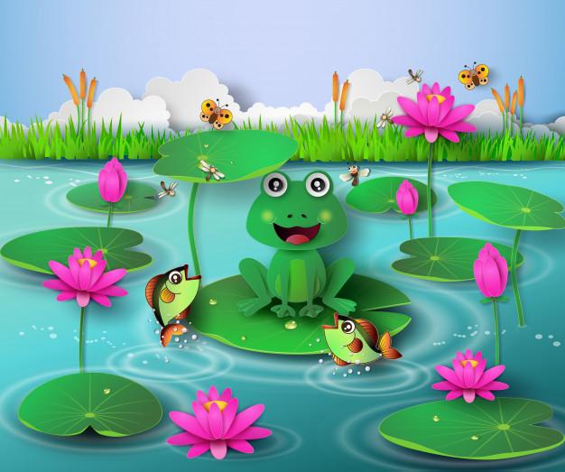Czwartek 21.05.2020. Temat dnia: W stawie – rozwój żaby.