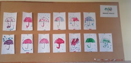03.11.2020  Malujemy farbkami parasolki