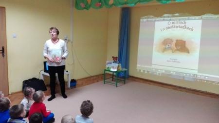 Spotkanie z Panią Wiesławą Pyrcz