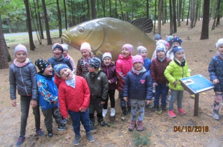 2018.10.04- W ,,Parku Ryb Słodkowodnych'' w Trzciance