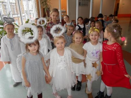 2018.01.08- Występy dzieci w Urzędzie Miasta