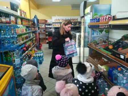 2019.03.01 Zdrowe zakupy - wyprawa do sklepu